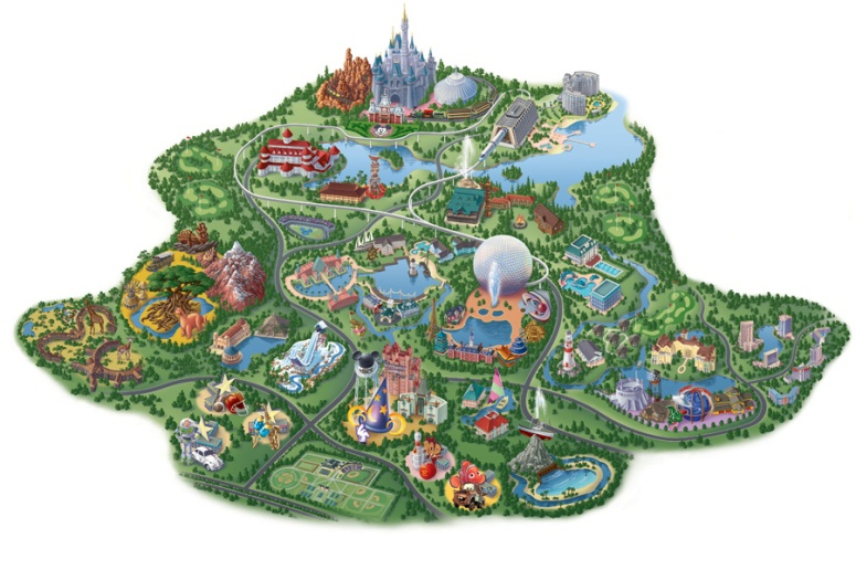 DisneyMap