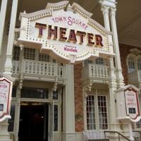 Town Square Theater, no Magic Kingdom